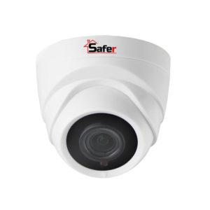 Camera supraveghere dome de 5 Megapixeli 4 in 1 IR 20 metri lentila 2.8 mm Safer